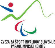 Zveza za šport invalidov Slovenije – Paraolimpijski komite Logo