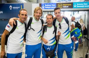Odhod paralimpijcev v Rio