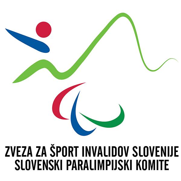 Zveza za šport invalidov Slovenije – Slovenski paralimpijski komite Logo