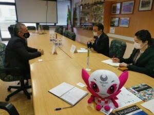 Predsednik Zveze ŠIS-SPK sprejel veleposlanika Japonske v Sloveniji